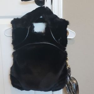 Bnwt Foley + Corinna Faux Fur FC Lady bag